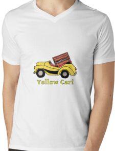Yellow Car! (with piano bonus) Mens V-Neck T-Shirt
