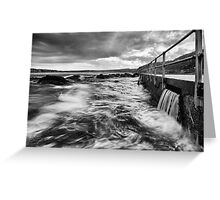 The Washing Machine - North Curl Curl, NSW Greeting Card