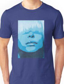 Face & Fringe Blue Unisex T-Shirt
