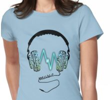 Music Charge Womens Fitted T-Shirt