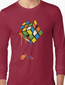 Rubik's Gloop Long Sleeve T-Shirt