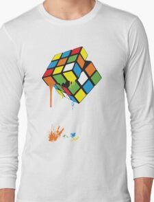 Rubik's Gloop Long Sleeve T-Shirt