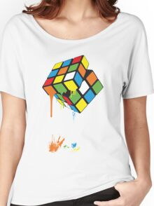 Rubik's Gloop Women's Relaxed Fit T-Shirt