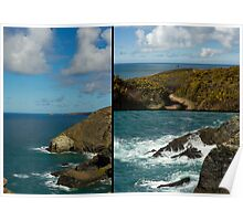 Cornwall North Coast Poster