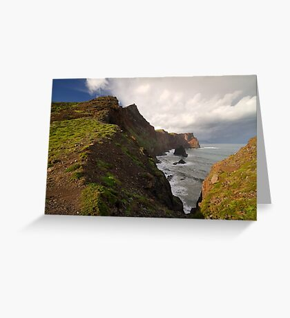 Dramatic landscape. Greeting Card