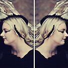 Blackbird Diptych (Divine Diptych Avatar May) by Trish Woodford