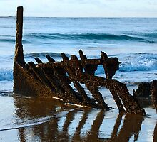 Rusted Hull by Sea-Change