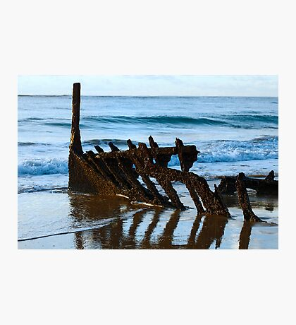 Rusted Hull Photographic Print