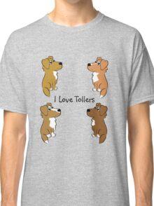 I Love Tollers! Classic T-Shirt