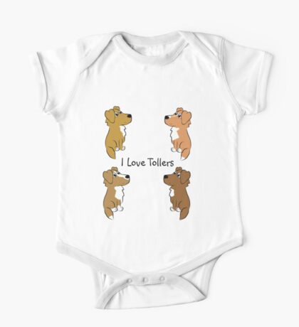 I Love Tollers! One Piece - Short Sleeve
