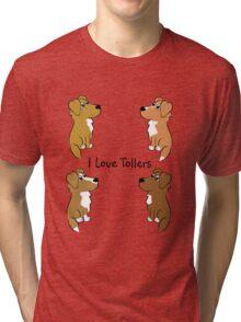 I Love Tollers! Tri-blend T-Shirt