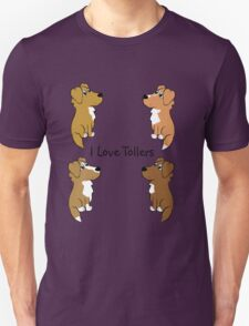 I Love Tollers! T-Shirt