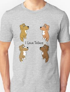 I Love Tollers! Unisex T-Shirt