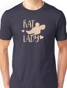 RAT LADY (in cream colour) Unisex T-Shirt