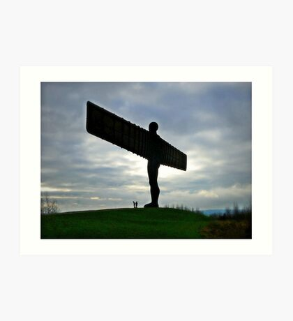 The Angel of The North Art Print