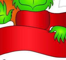 No Christmas for You! Sticker