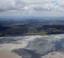 Aerial view of Lake George by styles