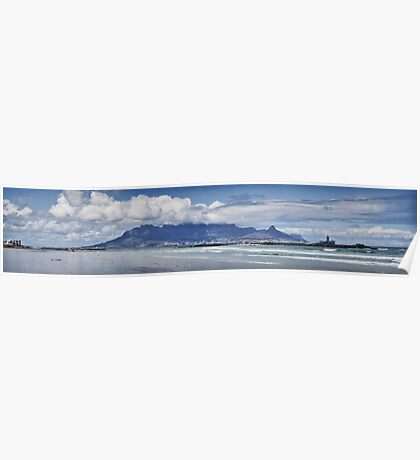Table Mountain Panoramic Poster