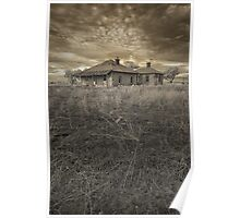 Tumbled Down Homestead Poster