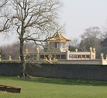 Golden Temple at Conishead priory Ulverston by Dahlia48