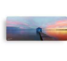 The Perth Boatshed Canvas Print