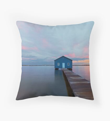 The Perth Boatshed Throw Pillow