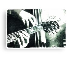 Double bass and Guitar Canvas Print