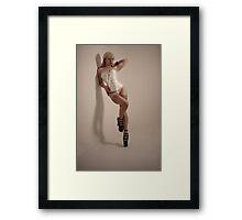 Ivory Framed Print