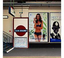 Ealing Broadway Station Photographic Print