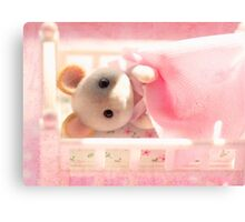 Marshmallow Mouse Canvas Print