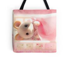 Marshmallow Mouse Tote Bag