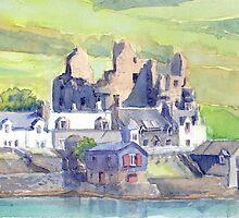 Scalloway Castle, Shetland by Redbarron