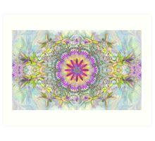 Star Flowers Art Print
