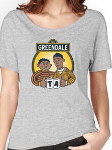 Greendale Street  Women's Relaxed Fit T-Shirt