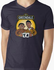 Greendale Street  Mens V-Neck T-Shirt