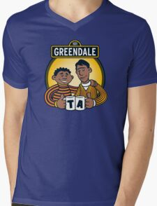 Greendale Street  Mens V-Neck T-Shirt