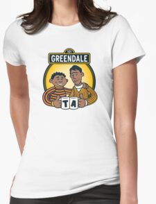 Greendale Street  Womens Fitted T-Shirt