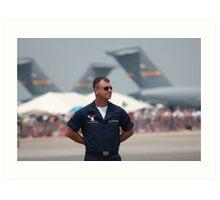 F18 Duty Art Print