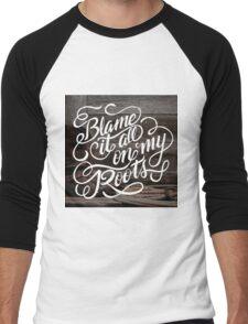 On My Roots Men's Baseball ¾ T-Shirt