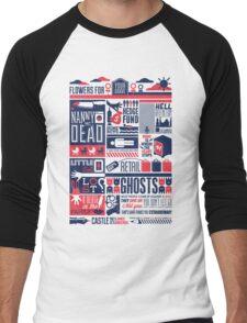 Castle Men's Baseball ¾ T-Shirt