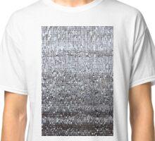 Futuristic texture. Heat insulation material. Classic T-Shirt