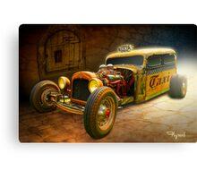 Shake n' Bake Taxi Canvas Print