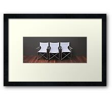 Relax a While Framed Print