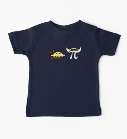Devil Pie and Angel Pi Baby Tee