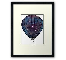 Galaxy Balloon Framed Print