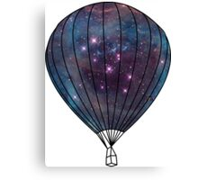 Galaxy Balloon Canvas Print