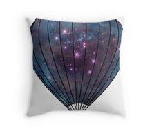 Galaxy Balloon Throw Pillow