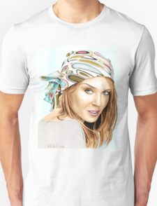 Kylie Minogue - bandana/kerchief (color version) Unisex T-Shirt