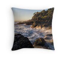 Golden Hour at Snapper Rocks Throw Pillow