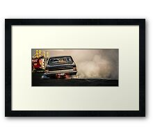 UCSMOKE Tipping In Framed Print